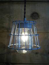 BALL MASON JAR Light Fixture Milk Crate Wire Basket Farmhouse 1 Jar Pendant