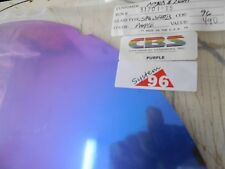 "Dichroic Glass:CBS 96 COE Purple on Flat Black- 3""Sq"