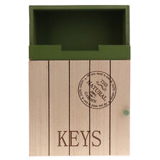 Wood Wall Mounted Mail Letter Key Rack Organizer Storage Holder Home Decor
