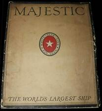 White Star Line - Majestic - The Worlds Largest Ship - 1922