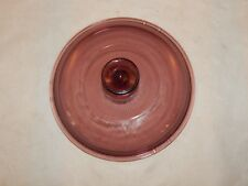 Pyrex Vision Ware Cranberry Glass Replacement Pot Lid V2.5C A Vented & Ribbed