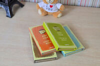 """Tri-fold """"Keep Calm"""" Hard Cover Kraft Notebook Diary Student Planner Note #B"""