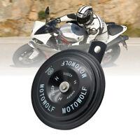 Black Car Auto 12V 110DB Universal Waterproof  Motorcycle Electric Air Horn