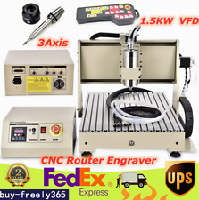 3axis 6040 Router Engraver Cnc Engraving Mill Drill Machine 1500w Withusb Rc