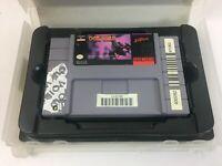 VTG Super Nintendo SNES Choplifter 3 III Rescue Survive Video Game Cartridge