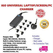 iGo AUTOMATIC Universal Laptop Charger Surge Protect 19V 90W Adapter Cheap UK