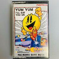 Rare PAC MANIA Game Music Namco Soundtrack Retro NES Cassette Tape