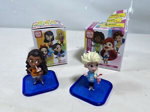 Disney Princess Ralph Breaks The Internet Mini Figure Doll moana & Elsa Bundle
