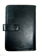 Fossil Tech Wallet Q Tech Carrier Black Leather Phone Case New NWT $68