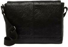 NWT - $498 Frye Men's Black Leather Messenger Bag Model DB0525