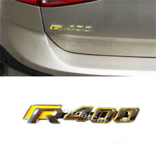 Auto Trunk Emblem Decal Sport Badge Fit For VW Golf 7 VII R400 Volkswagon ABS