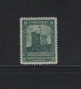 NEWFOUNDLAND - #152 - 9c CABOT TOWER MINT STAMP MLH