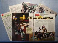 MOTOSPRINT991-PROVA / TEST-1991- CAGIVA SUPERCITY 125 - PROVA VERITA' - 6 fogli