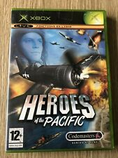 HEROES OF THE PACIFIC AVION XBOX FRANÇAIS COMPLET RARE VF FR