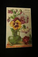Vintage PANSY Postcard c. early 1900s by: SL & Co.