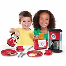 Morphy Richards Cuisine Set Enfants - Café Pot Bouilloire Grille-Pain Couverts