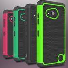 For Microsoft Lumia 550 Case Tough Protective Hard & Soft Hybrid Phone Cover