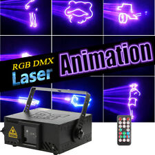 Rgb Laser Dmx Led Stage Lighting Animation Pattern Party Lights Club Dj Wedding