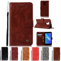 "For 5.5"" Asus Zenfone 3 Max ZC553KL PU Leather Flip Wallet Cell Phone Case Cover"