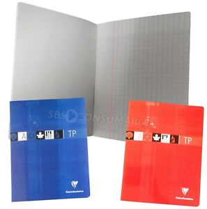 Clairefontaine Laboratory Notebook. 17 x 22cm. Soft Cover Science Graph Notebook