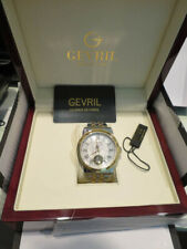 Gevril Swiss Made Washington Automatic 2 Tone Stainless Steel Watch 2622B..