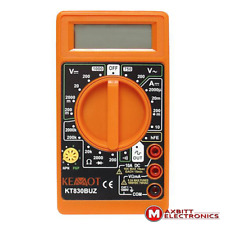 Palm Size Digital Multimeter Electric Voltmeter Ammeter Ohm Tester AC/DC Amp