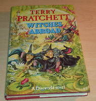 Terry Pratchett Witches Abroad UK 1st edition 1st print Hardback Discworld