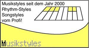 1600 SONG Styles für Yamaha PSR-Series (auswählen) Download oder USB-Stick