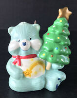 Vintage Care Bears Wish Bear Christmas Ornament 1985