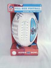 2008 Official NFL Super Bowl XLII Champions Full Size Football NYG NE Patriots