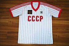 RETRO ADIDAS CCCP USSR RUSSIA FOOTBALL SHIRT CAMISETA SIZE MENS SMALL JERSEY