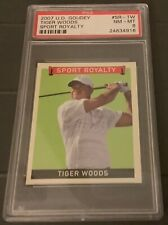 2007 Upper Deck Sports Royalty - Tiger Woods - Rare PSA8