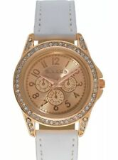 Tikkers Rose Gold &White Straps Girls Watch Designer Style BIRTHDAY PARTY GIFTS