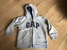 GAP Boys Fleece Hoodie Grey Age 4yrs