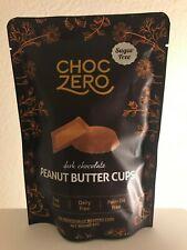 ChocZero Dark Chocolate Peanut Butter Cups Soy, Dairy, & Sugar Free,  Net 3oz