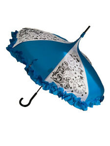 DELUXE-LOOKING GLASS Umbrella/Parasol pagoda shaped by Hilary's Vanity