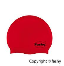 Fashy Unisex Badekappe Badehaube Latex rot 3030 40