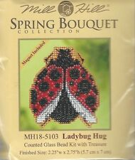 Ladybug Hug Glass Bead Kit by Mill Hill