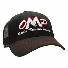 October Mountain Products OMP Mesh Hat One Size Black Model: 13076