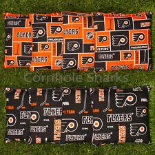 Cornhole Bean Bags Set of 8 ACA Regulation Bags Philadelphia Flyers  Free Ship!!