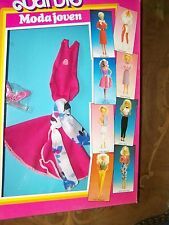 #7915 MODA JOVEN JAZZ BARBIE DOLL FASHION  foreign imported from Spain (c)1985