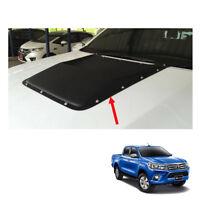 Matte Black Scoop Bonnet Vent Cover Set Fits Toyota Hilux Revo M70 M80 4x2 2016