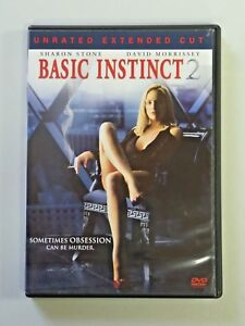 BASIC INSTINCT 2 Unrated Extended Cut DVD Movie 2006 Sony Home Entertainment