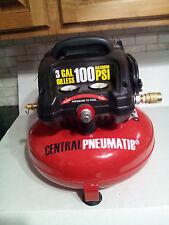 CENTRAL PNEUMATIC PANCAKE AIR COMPRESSOR 100-PSI / 3-GALLON