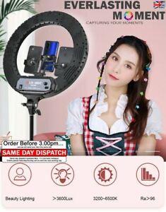 """6"""" 10"""" 14"""" 18"""" 22"""" LED Ring Light Dimmable Lighting Kit Phone Selfie Live Lamp"""