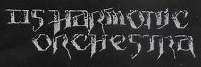DISHARMONIC ORCHESTRA Old Logo Patch 15 cm x 5 cm - gewebt / woven 162188