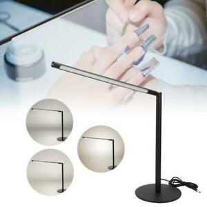 LED Nail Art Desk Table Lamp Brightness Adjustable Lamp for Reading Manicure