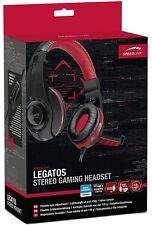 Speedlink LEGATOS Gaming Headset Kopfhörer Mikrofon für PC Computer Stereo