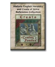 Heraldry Book Collection - 34 Coats of Arms Family History Crests Books - B375