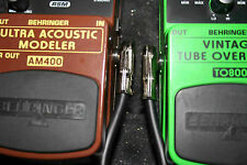 """6"""" Mogami Pedal Board/Patch/Effects Cable - LOW PROFILE"""
